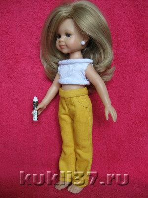 джинсовые брюки для Паолы Рейна