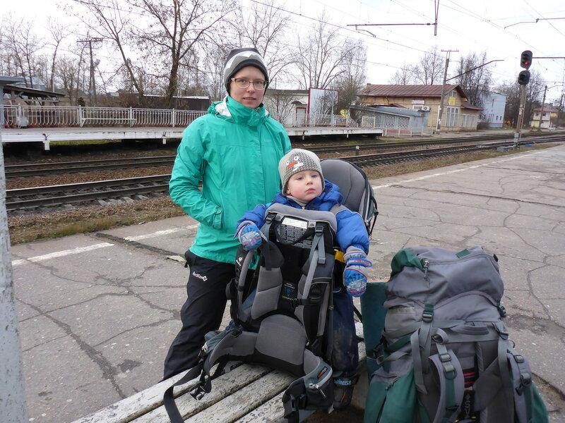 пеший поход с ребенком 2.5 года в переноске deuter kid comfort 3