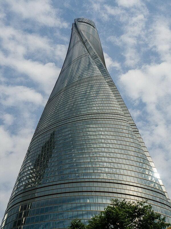 Небоскреб Shanghai Tower. Китай