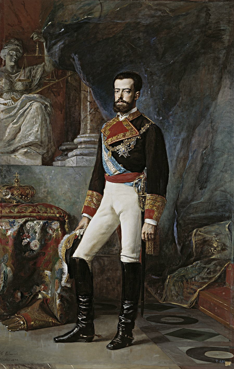 Amadeo I of Spain (1845-1890).