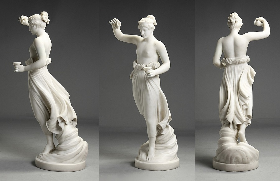 Marble Sculpture of woman