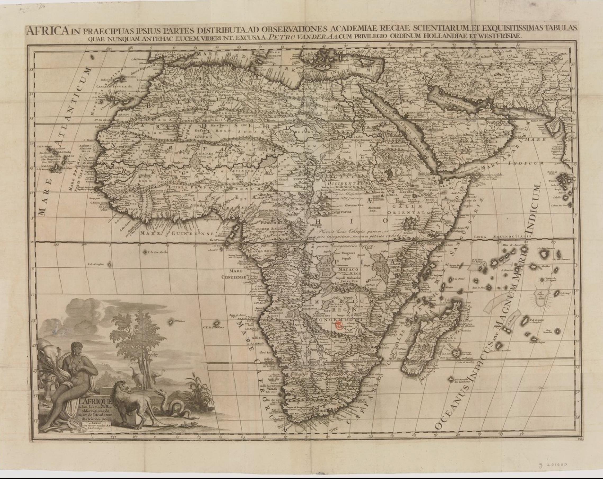 02. Карта Африки