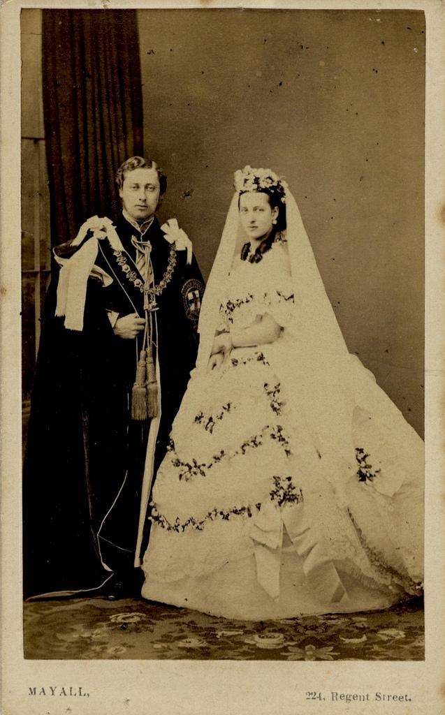 1863. Королевская свадьба, 18 марта