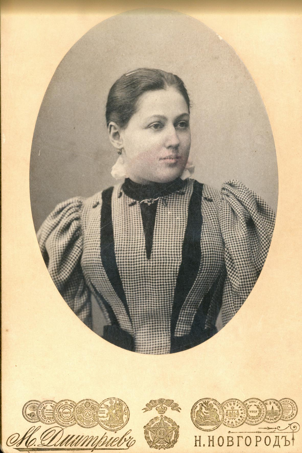 Портрет Анны Филипповны (жены М. П. Дмитриева)