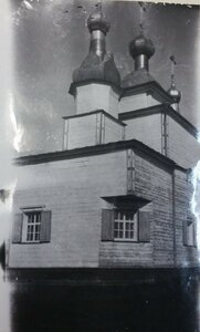 Деревянная церковь Спаса на Валушках