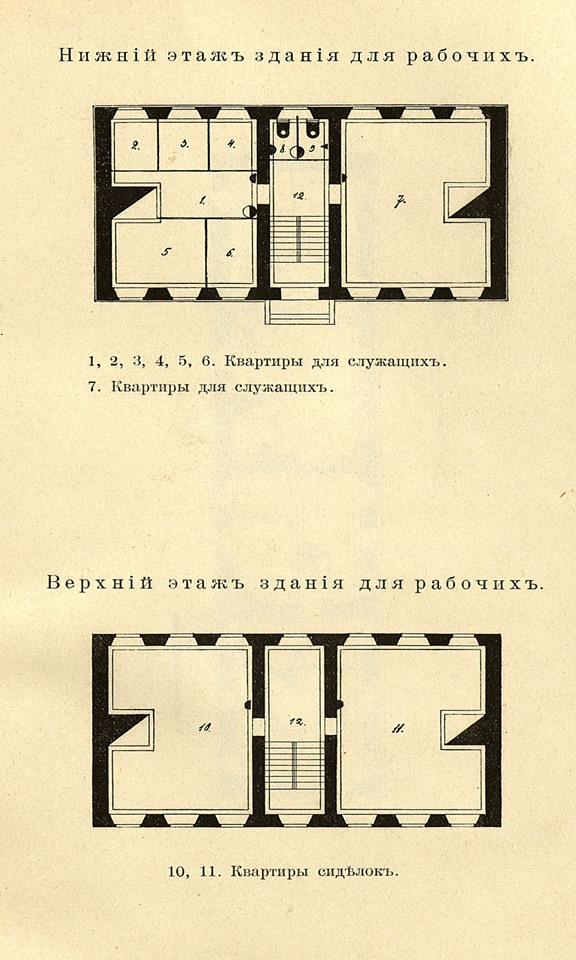 37. Нижний и верхний этажи для рабочих