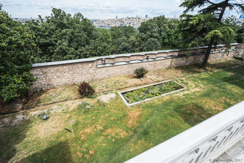 Дворец Топкапы в Стамбуле. Четвертый двор Софа-и Хюмвюн.