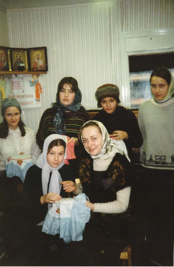 занятия вышивкой воскресная школа