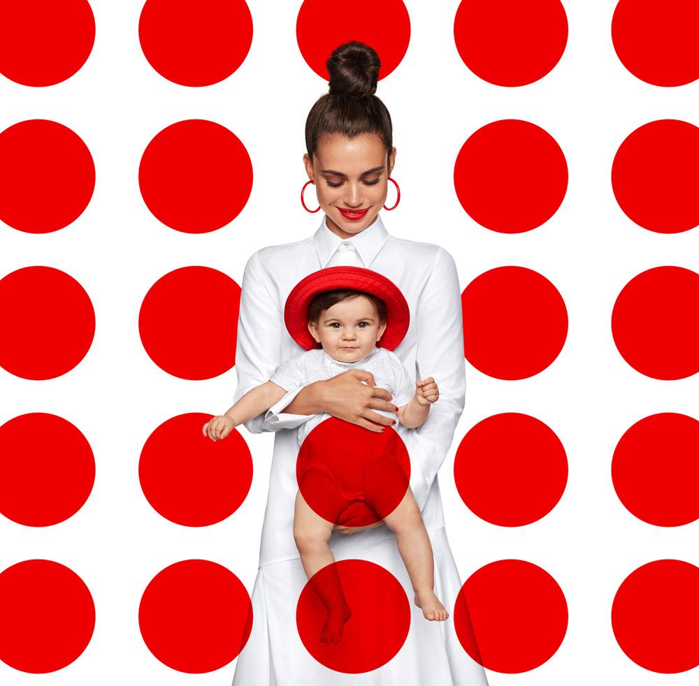 Красный горошек / работа  Julia Galdo