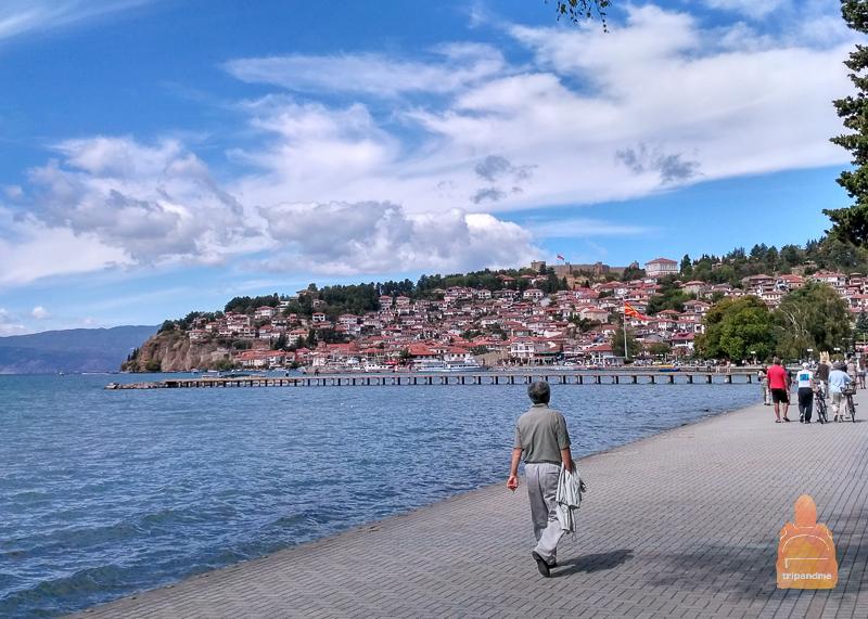Набережная Охрида