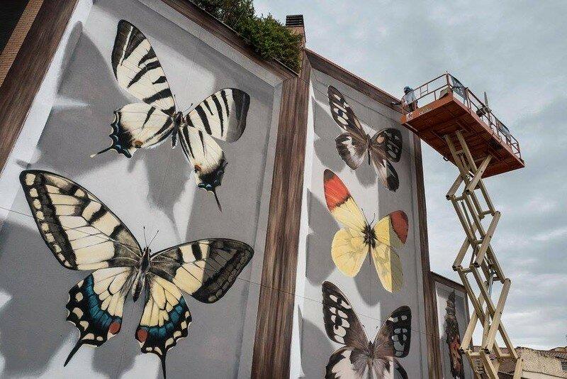 0 177af6 7df7bfbc XL - Необычная роспись стен высотных домов во Франции