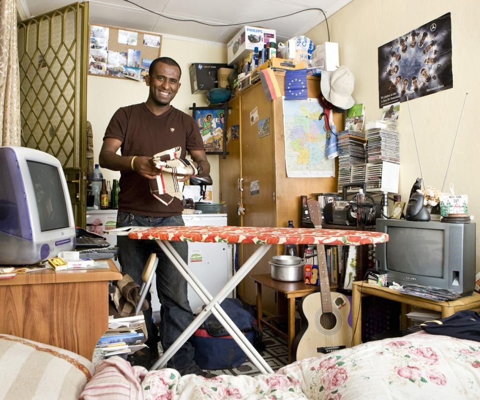 19. Вако Вондиму, 32 года, Аддис-Абеба, Эфиопия   Все, что вы видите на фото, — это все, что ес