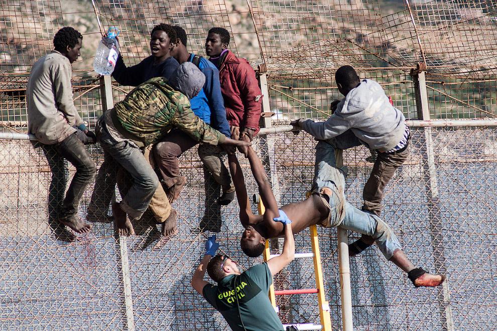 8. 3 апреля 2014, граница Марокко и Испании.