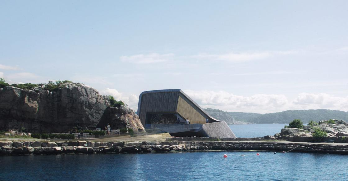 The first underwater restaurant in Europe will also be an artificial reef