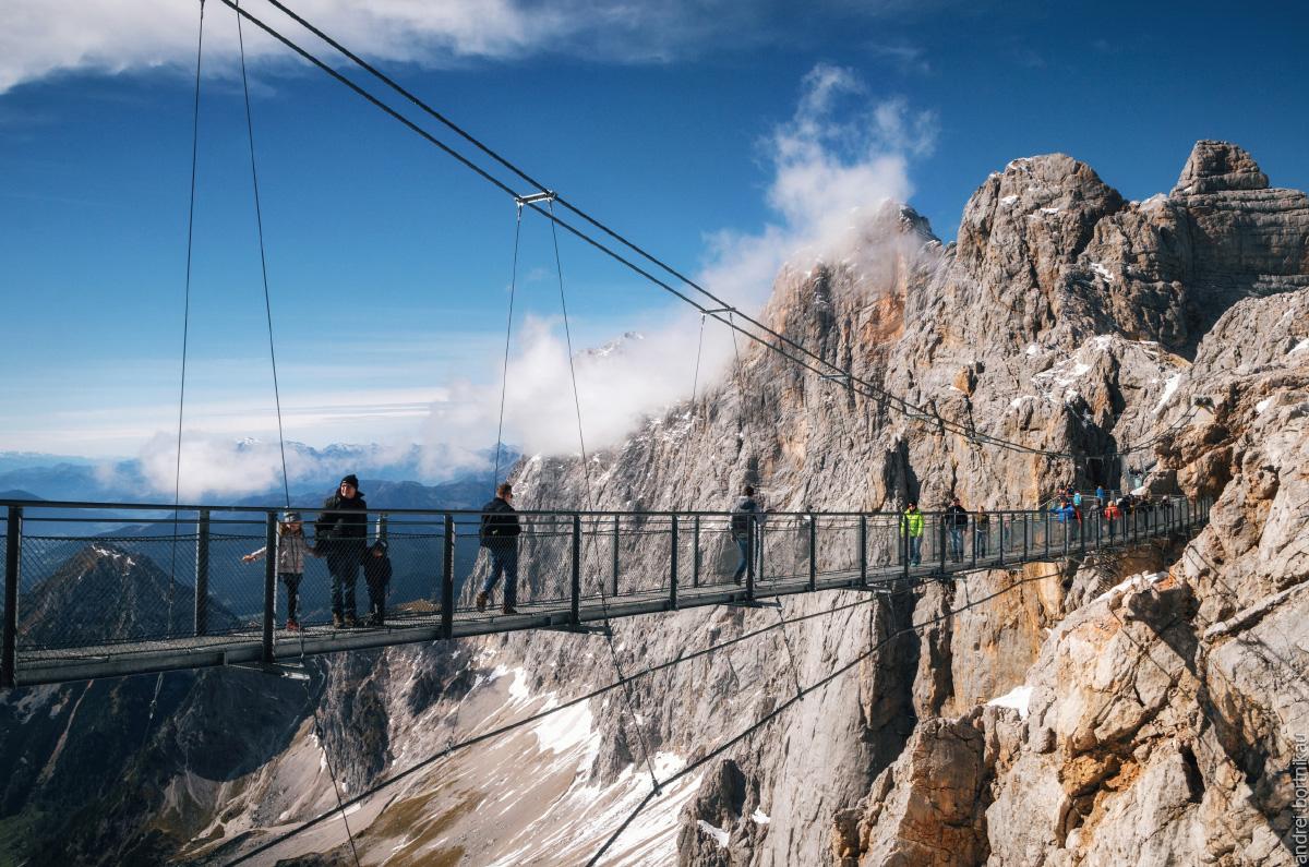 Стеклянный мост в Дахштайн, Австрия