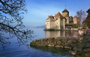 Монтрё, Шильонский замок, Швейцария