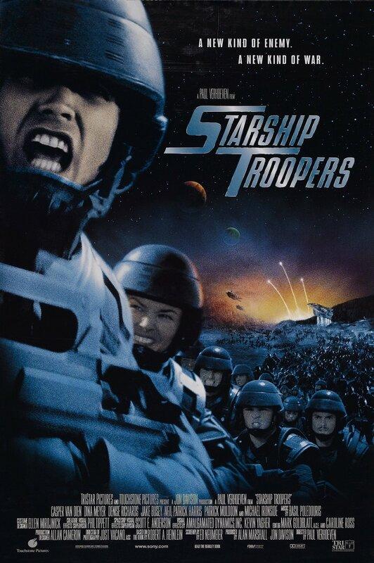 starship troopers XX 20 звездный десант пехота Верховен