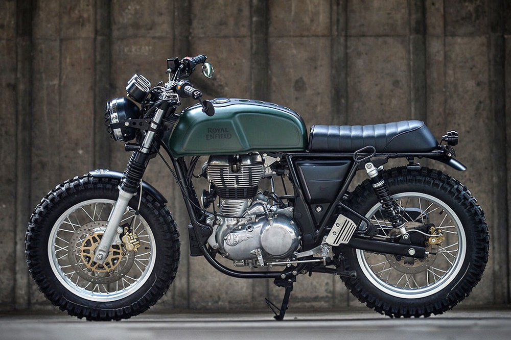 K-Speed: Скрэмблер Royal Enfield Continental GT
