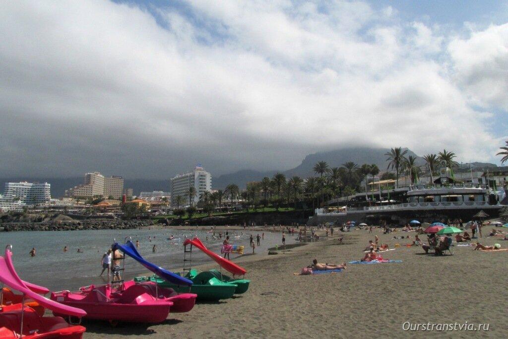 Фото пляжей на Тенерифе