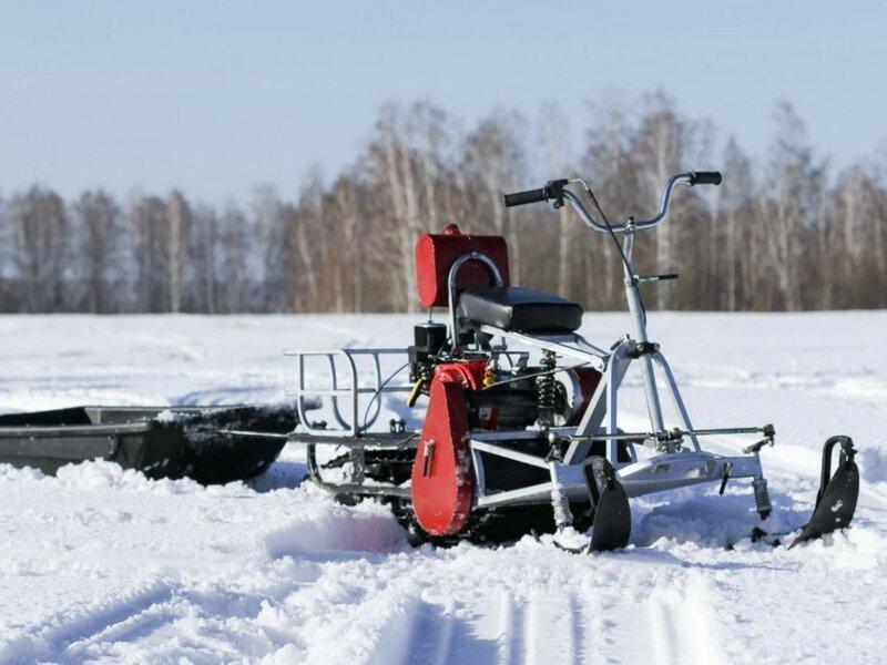 Снегоход-мототрансформер