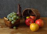 Яблочно - виноградная  пора