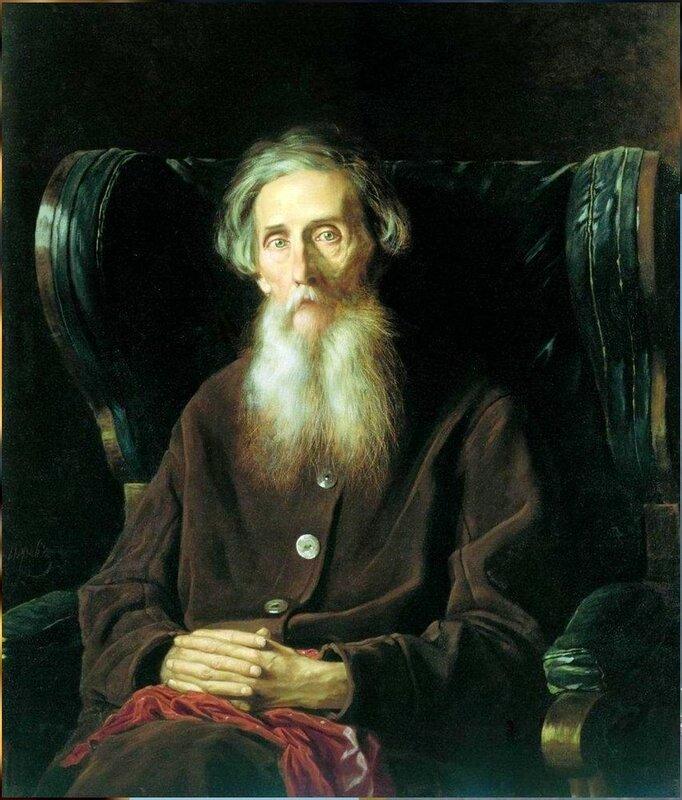 Портрет кисти Василия Перова (1872). Писатель Владимир Иванович Даль.jpg
