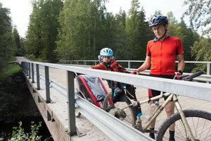 велопоход по финляндии с ребенком (1.5 года)