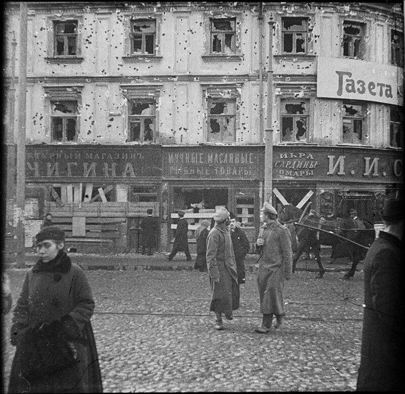 5983 Разруха после большевистского переворота 1917 года  у Никитских Ворот.jpg