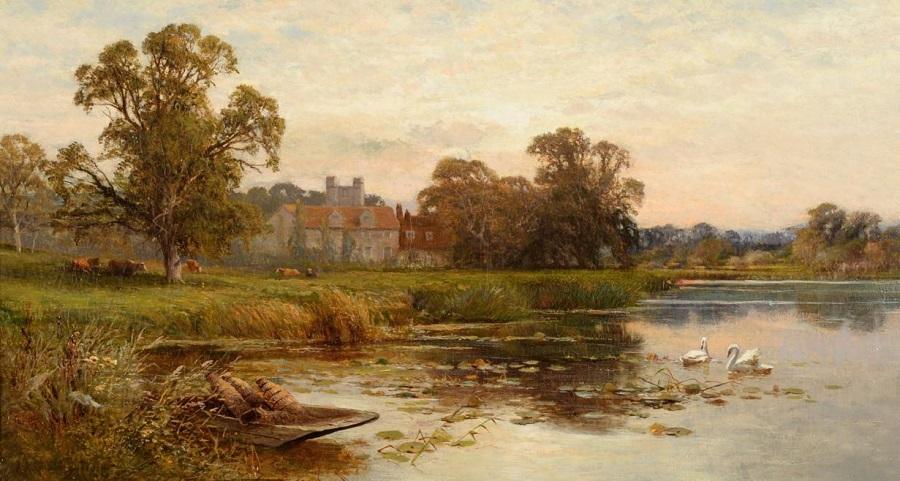 Bisham on Thames , 1878