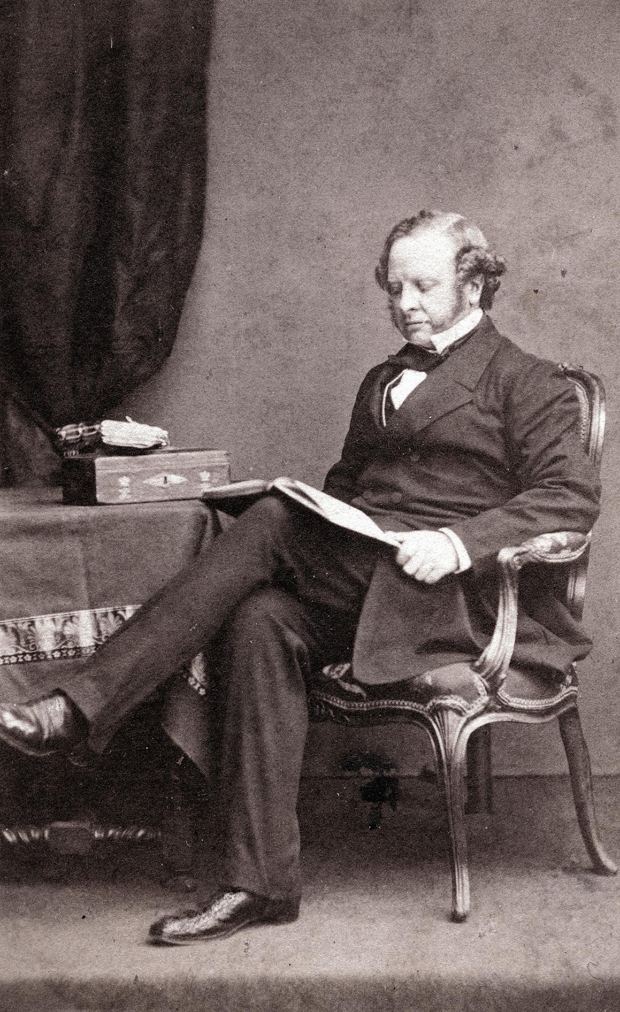 1860. Гренвиль Джордж Левесон Гоуэр, 2-й граф Гренвиль, — британский политик