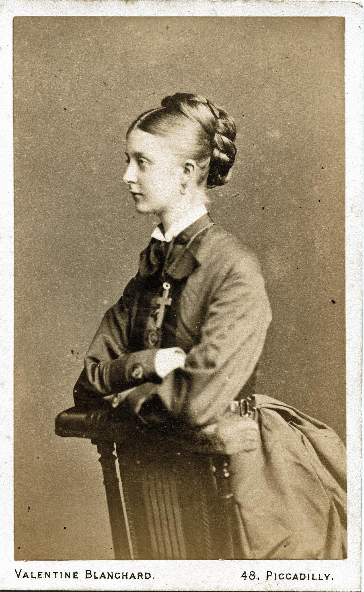 1870. Неизвестная женщина
