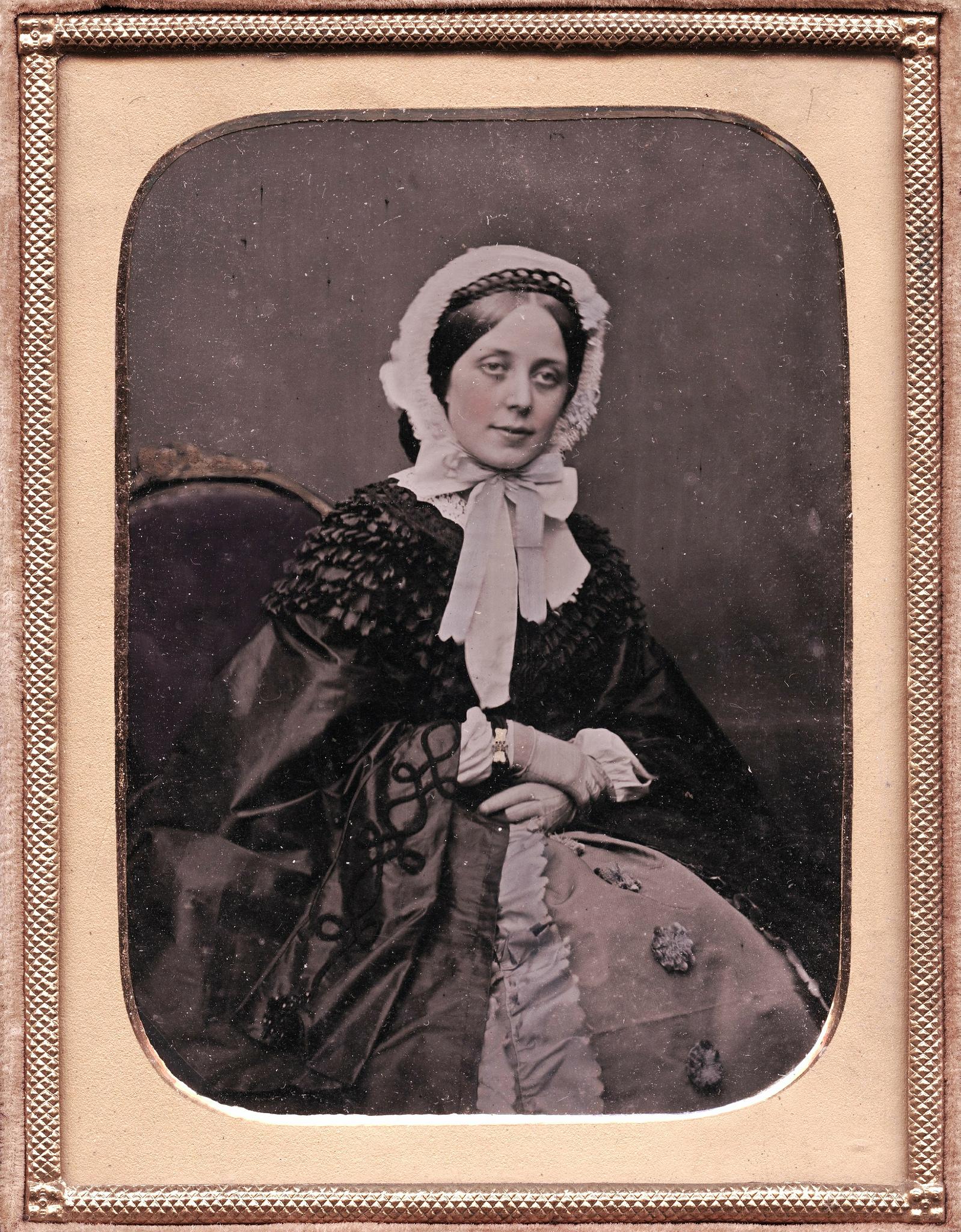 1850. Неизвестная женщина
