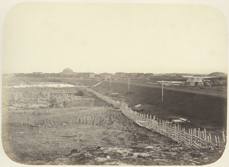 Вид на Бологое. 1864