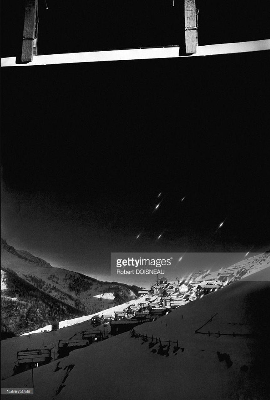 1947. Восход солнца в деревне Сен-Веран
