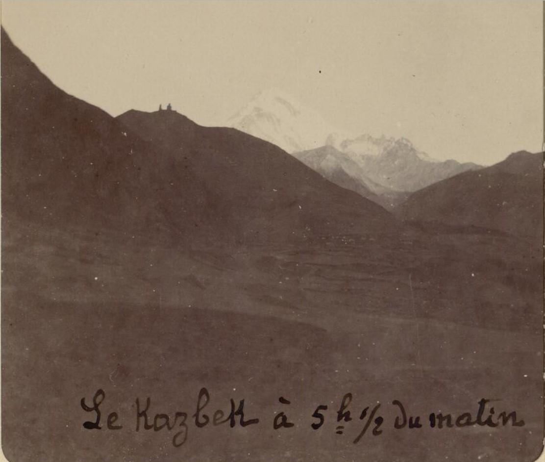 03. Военно-Грузинская дорога. Гора Казбек