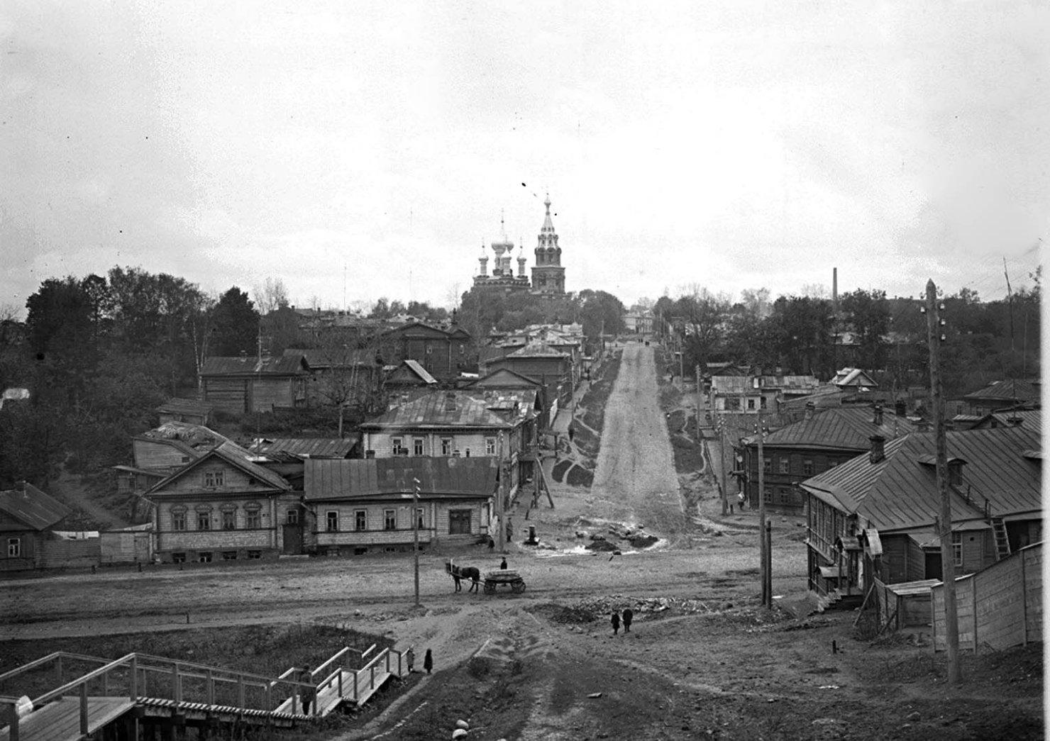 Спасская улица. Общий вид. 1911
