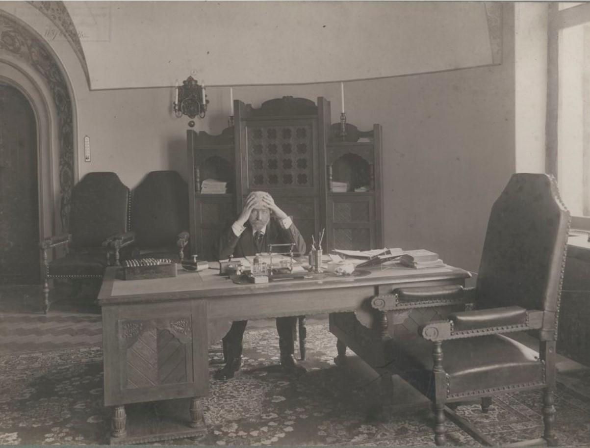 1890-е. Кабинет управляющего Государственным банком