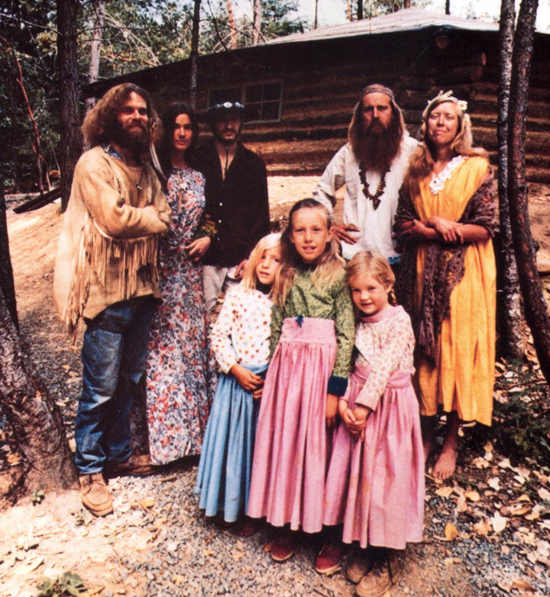 1969. Коммуна хиппи в Орегоне