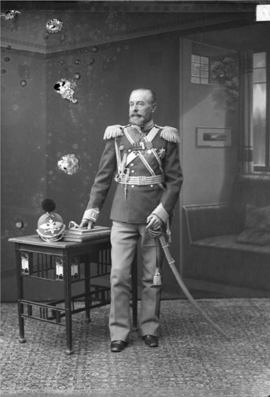 А.И. Левицкий – генерал, начальник жандармского управления