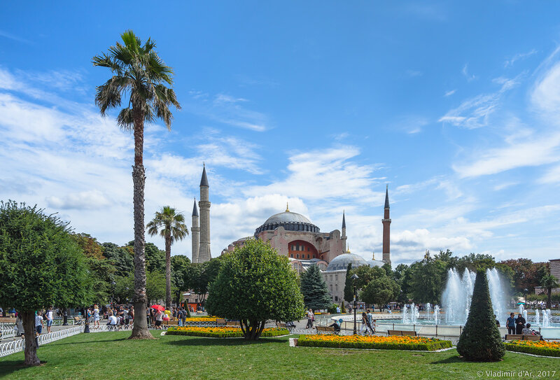 Султанахмет. Парк Султан Ахмет.