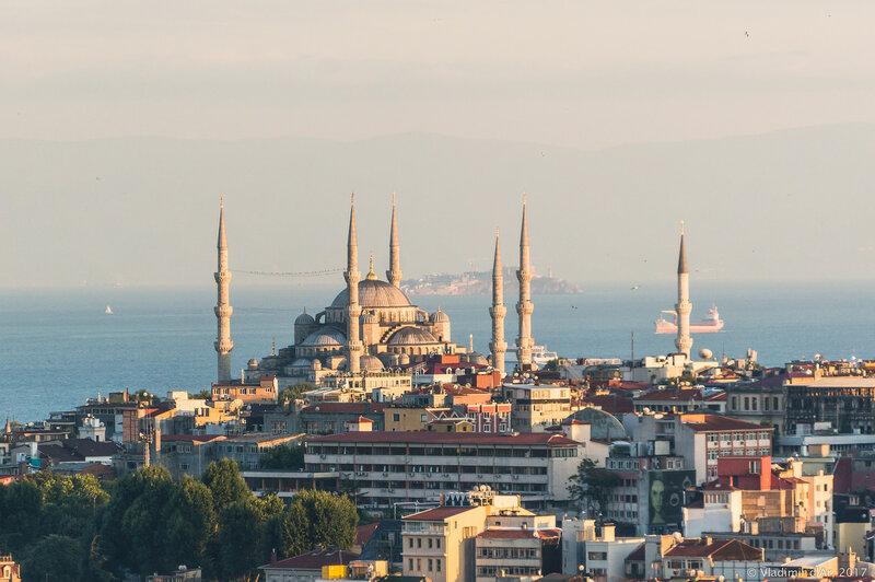 Султанахмет. Голубая мечеть.