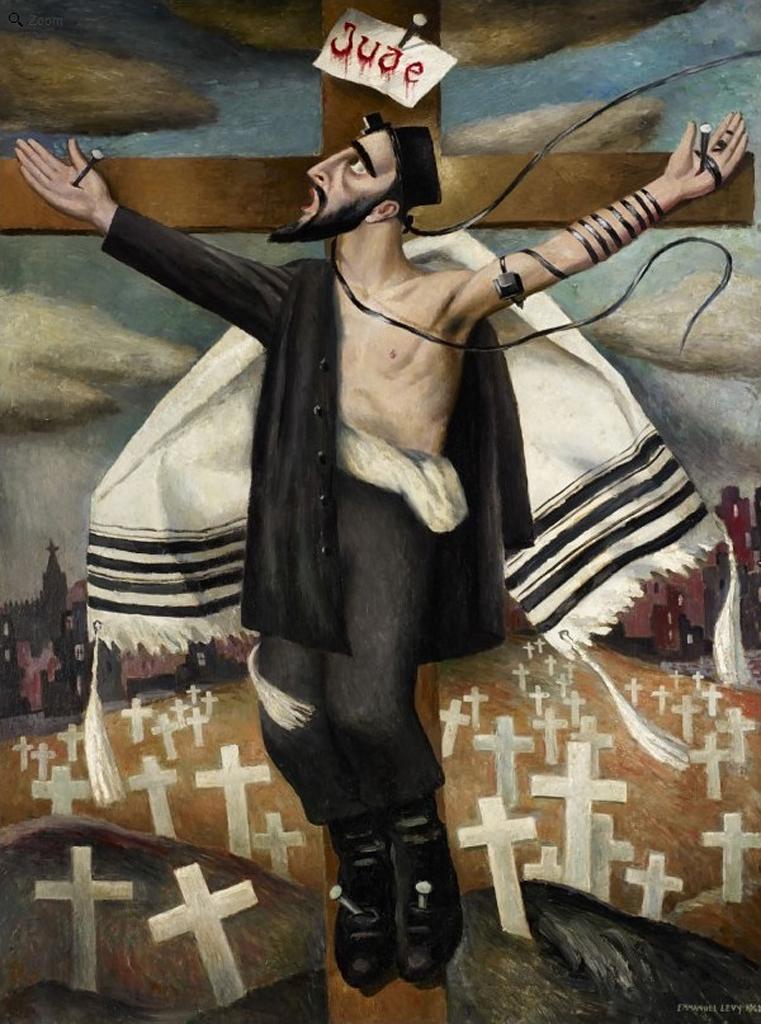 Распятие. 1942, Леви Эммануэль (1900-1986),