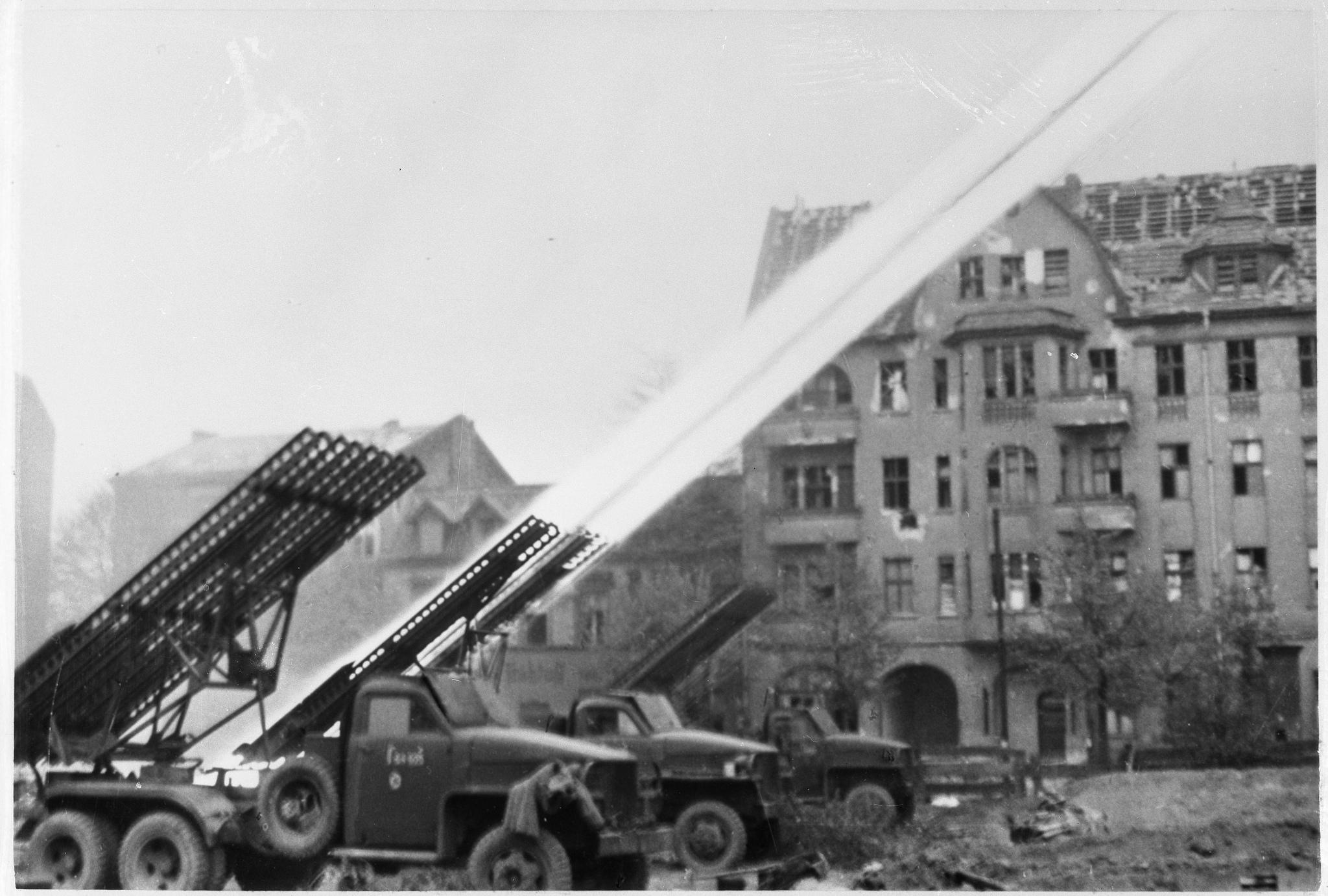 Как в Берлине спасали животных и иностранцев.  1945 г.