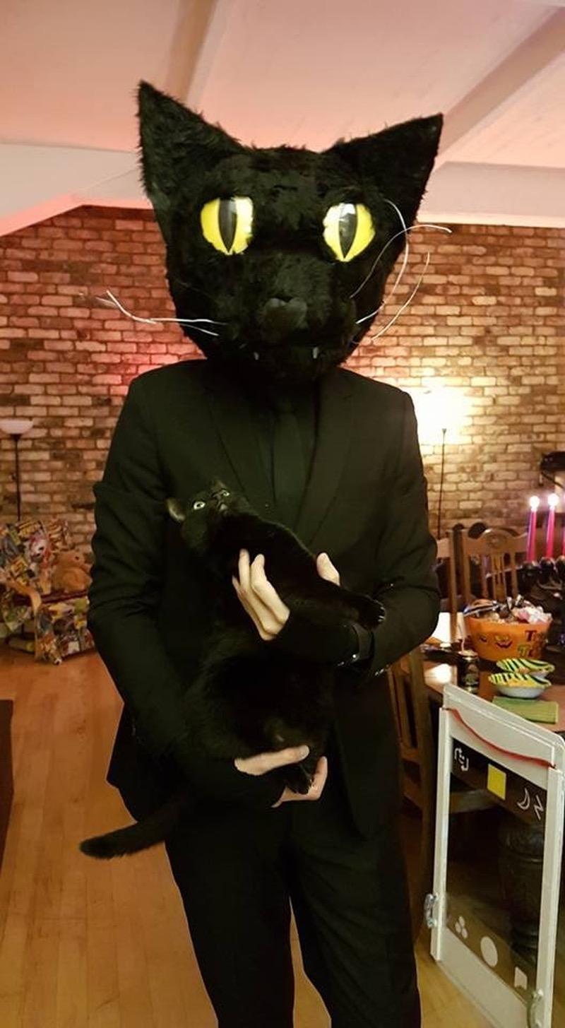 Забавные костюмы на Хэллоуин