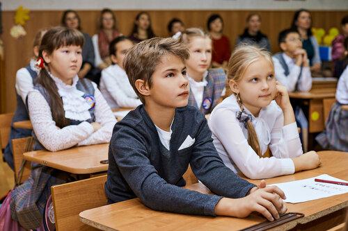 Открытые уроки в гимназии №38. Октябрь  - 2017