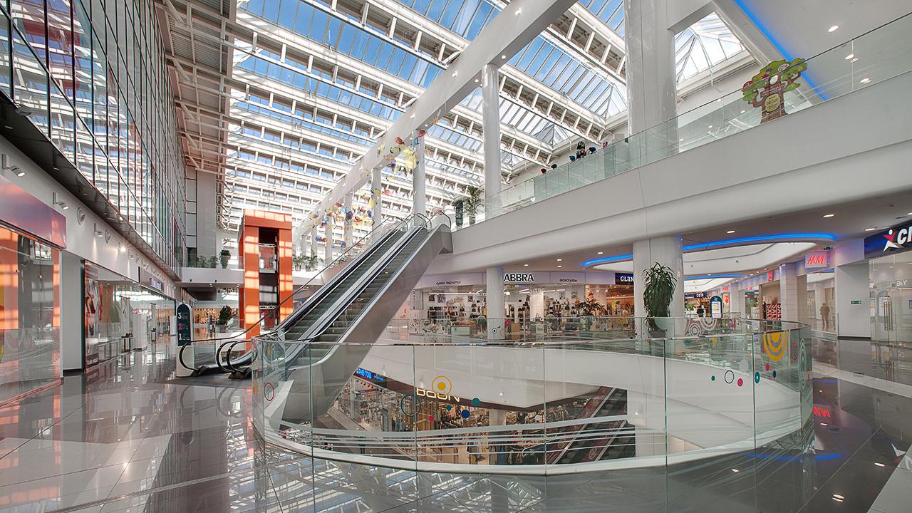 Торговые центры Москвы. фотосъемка