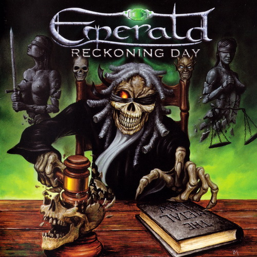 Emerald - 2017 - Reckoning Day [Pure Steel Records, PSRCD141-2, Germany]