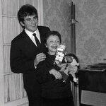 Édith Piaf et Théo Sarapo Эдит Пиаф и Тео Сарапо 1962