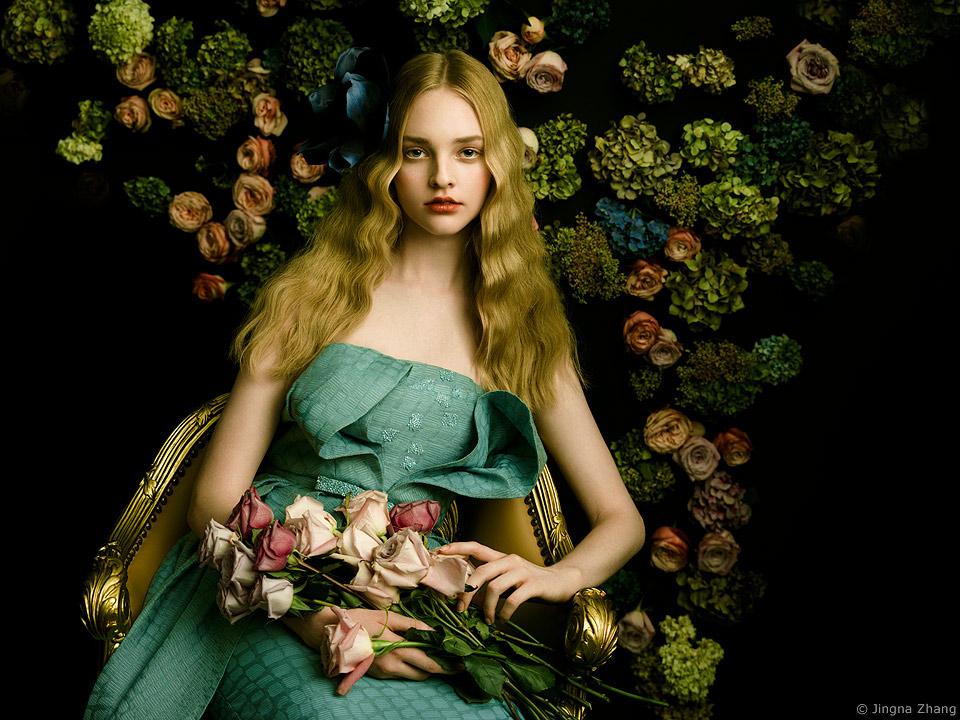 Harper's Bazaar Vietnam AURORA / фотограф Jingna Zhang