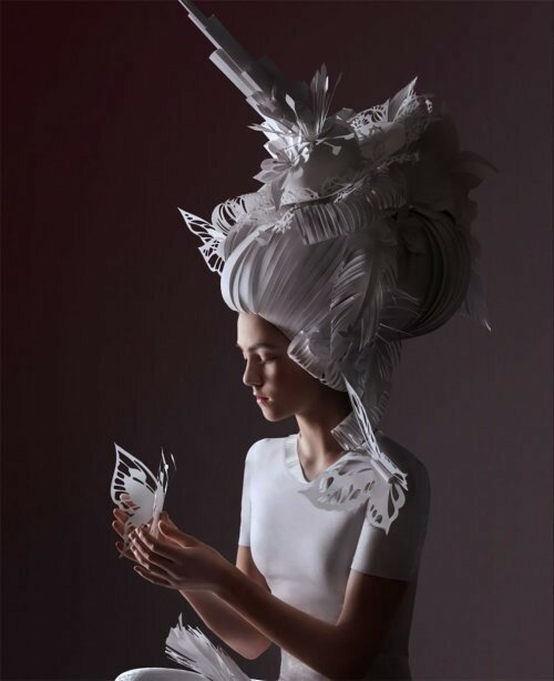 0 17adce c13b13c1 XL - Бумажные парики Аси Козиной в стиле барокко